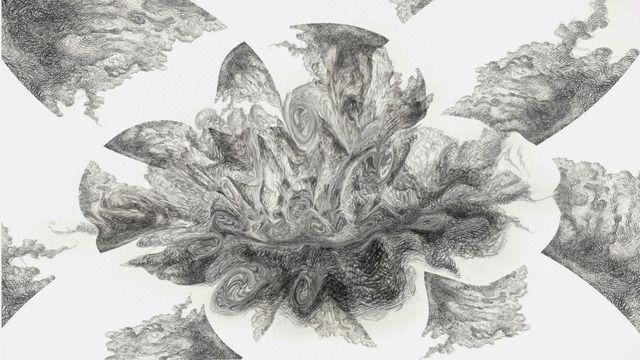 Autor: Anne Morgan Spalter. Imagen creada por transformacion con tecnica de fractura de video.