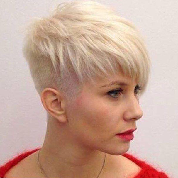 21 unglaublich trendy Ideen Pixie Cut: Einfach kurze Frisuren Layered Pixie Haircut Ideen für kräftiges Haar – Rasiert Frisuren 2017 25 Chic Short…