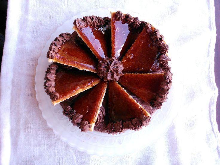 "Dobos torta Tetovált lány módra - Traditional Hungarian cake ""Dobos"""