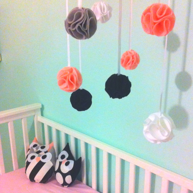 17 best images about havin 39 a ball on pinterest felt for Diy felt flower mobile