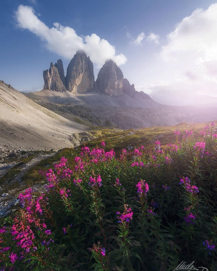 Fabulous Mountainscapes of The Dolomites by Nicola Pirondini | See, Pastell