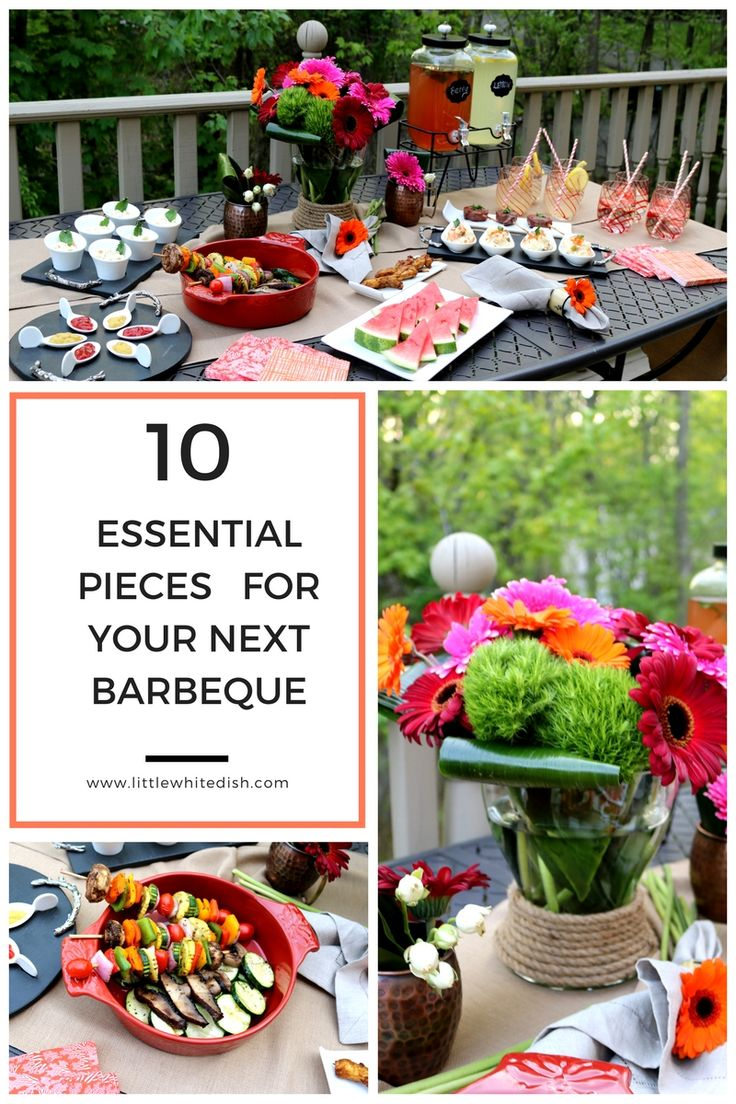 25 best fabulous bbq table decor images on pinterest bbq table