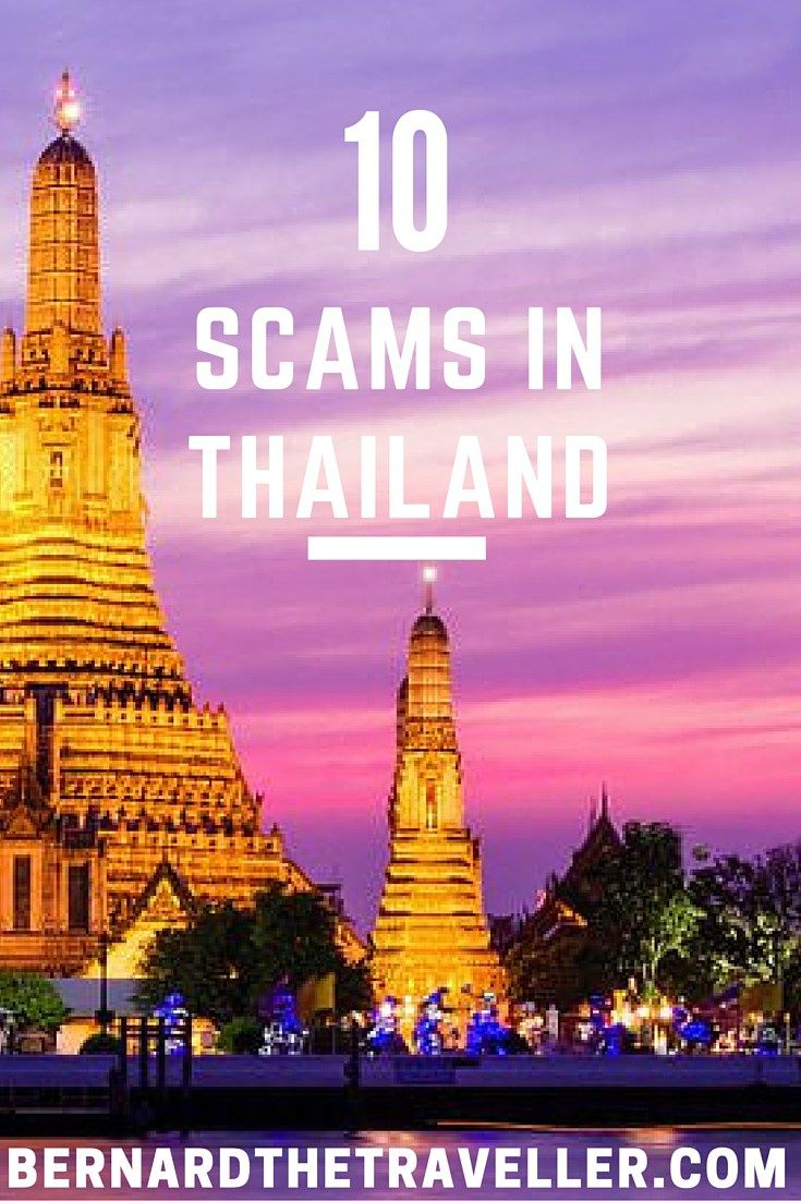 Top 10 Scams in Thailand