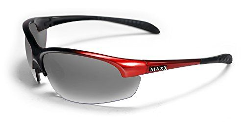 Maxx Sunglasses Domain Red Frame Polarized Smoke Lenses -- Be sure to check out this awesome product.