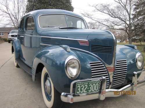 1939 dodge d11 luxury liner 4 door sedan vintage cars for 1939 plymouth sedan 4 door