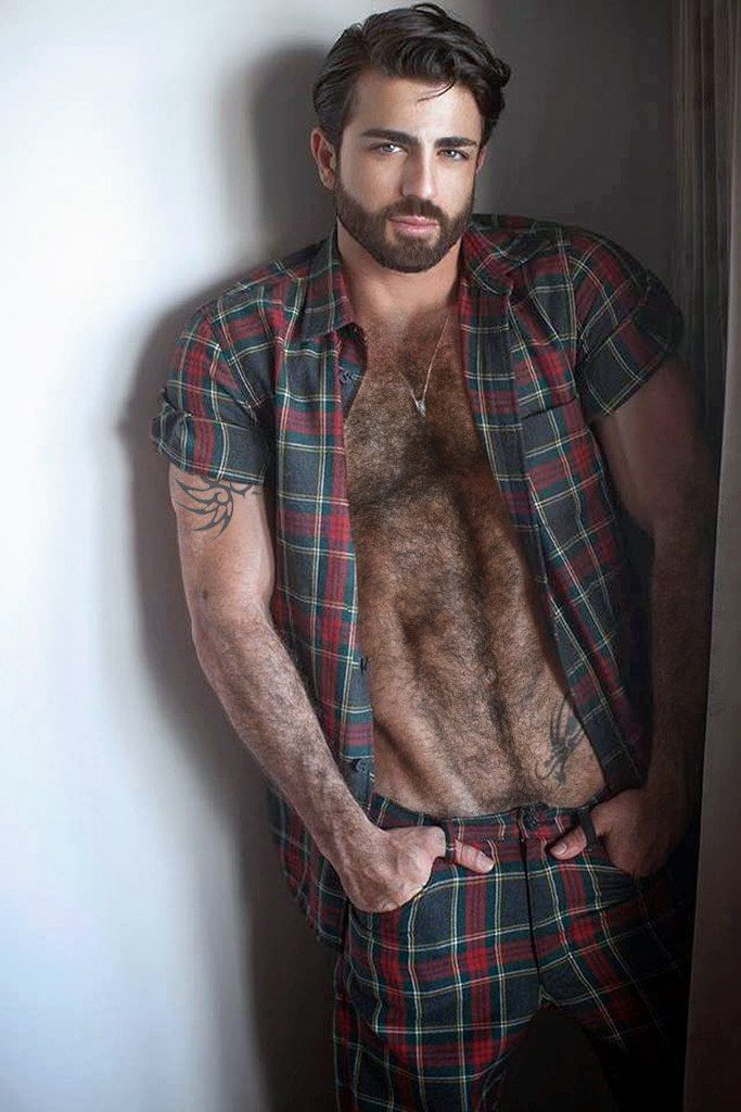 hairy hunk: