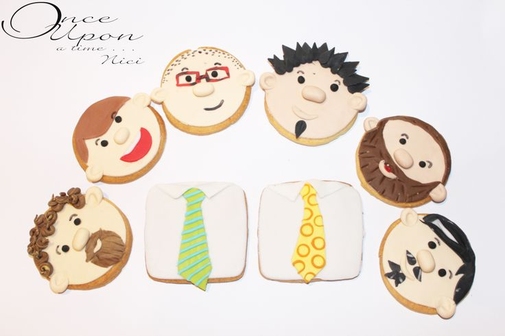 Father's Day Cookies Biscotti per la festa del papà https://www.facebook.com/www.NiciSugarLab.it
