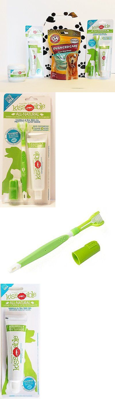 Oral Hygiene 116394: Dog Dental Care Toothbrush, Toothpaste, Dental Wipe, And Dental Ring Chew Bundle -> BUY IT NOW ONLY: $81.91 on eBay!