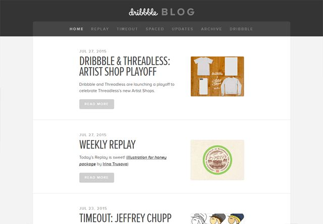 50 Beautiful Blog Designs