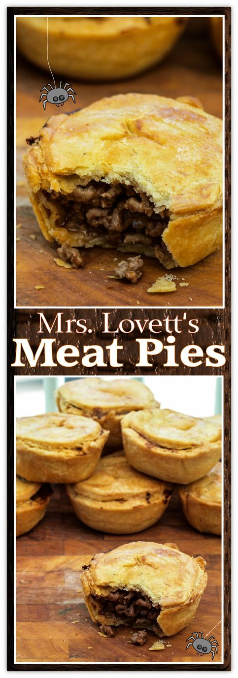 Try these hearty, belly-warming (human-free) Halloween Meat Pies.                                                                                                                                                                                 More