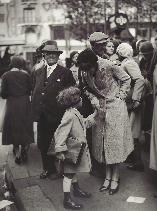 Rentrée des classes, Paris, 1931 (photographe inconnu)