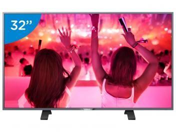 """Smart TV LED 32"""" Philips 32PHG5201 - Conversor Digital Wi-Fi 3 HDMI 1 USB DTVi    R$ 1.399,00 em até 10x de R$ 139,90 sem juros no cartão de crédito"""