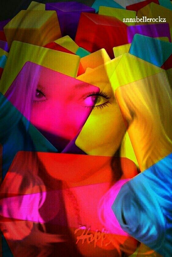 Annabellerockz color girl