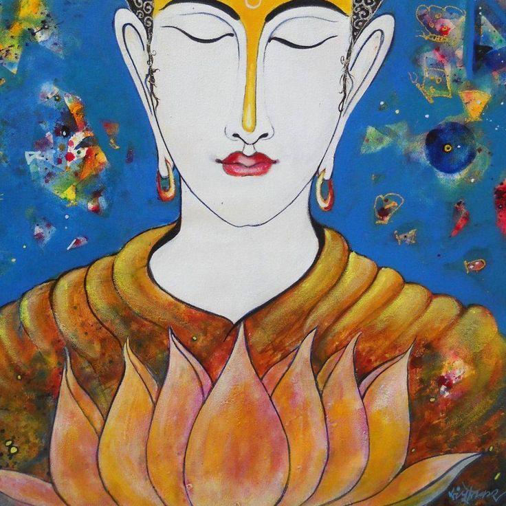 Framelessoil Paintings Canvas Colorful Buddha Sitting Wall: Best 25+ Buddha Living Room Ideas On Pinterest