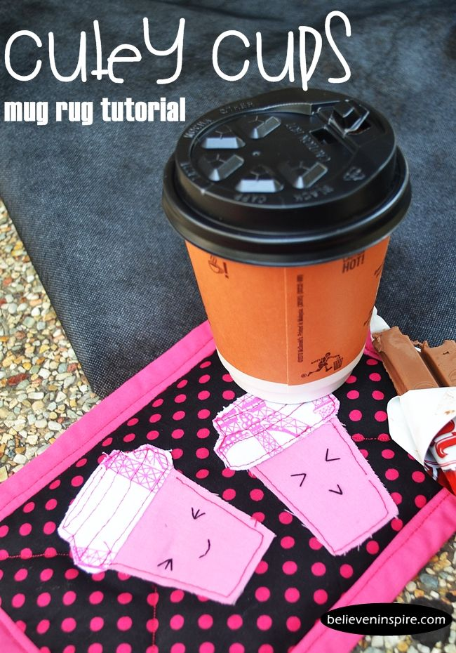 easy sewing projects | free sewing patterns | mug rug tutorial | beginner sewing projects
