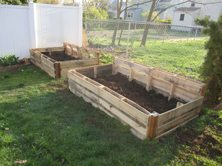 Garden Boxes Ideas 10 inspiring diy raised garden beds ideasplans and designs Pallet Garden Boxes Imgur