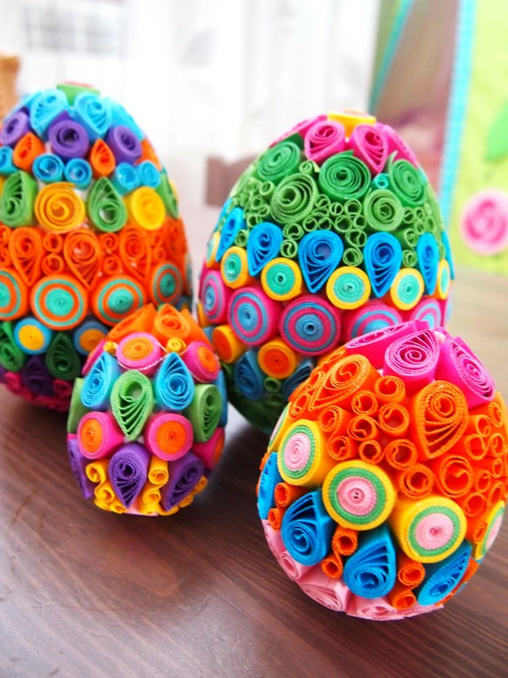 Easter Eggs Loisirs Creatifs Pinterest Ufs Ufs De