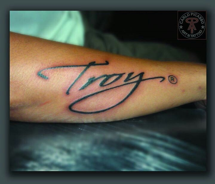Best 25+ Name Tattoos On Arm Ideas On Pinterest