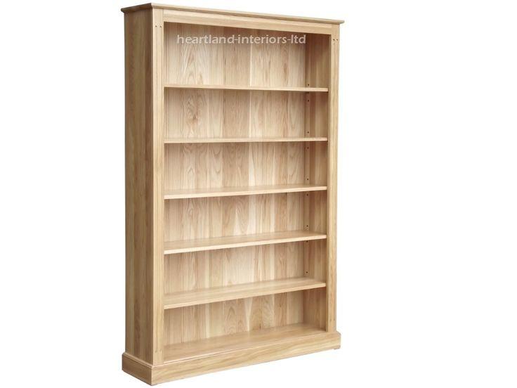Best + Solid Oak Bookcase ideas on Pinterest  Oak shelving unit
