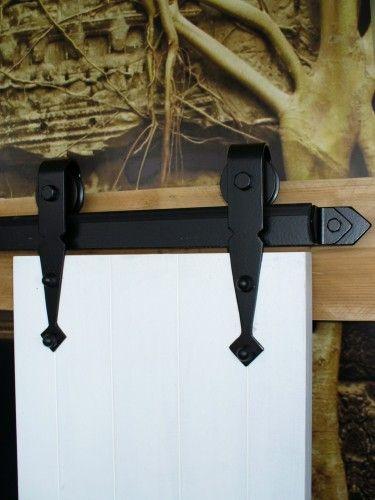 Boeren schuifdeurbeslag 150 Kg voor deurbreedte max 103 cm
