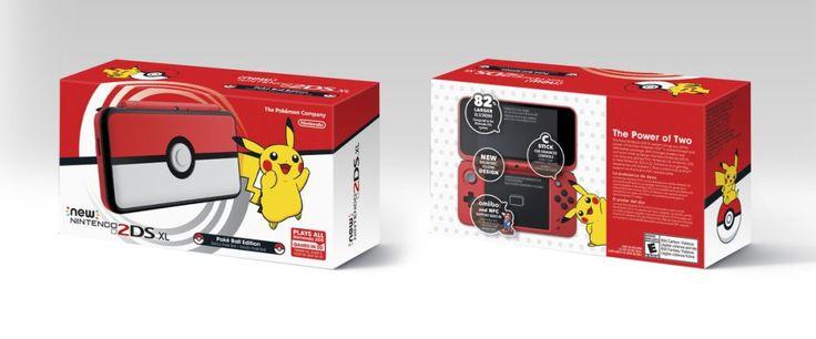 Pokémon 2ds XL Poké Ball Edition -Veja tudo que rolou na Nintendo Direct de Setembro.