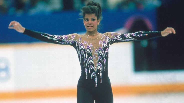 After winning the U.S. and world titles in 1986, all eyes were on Debi Thomas at the 1988 Olympics. Description from espn.go.com. I searched for this on bing.com/images