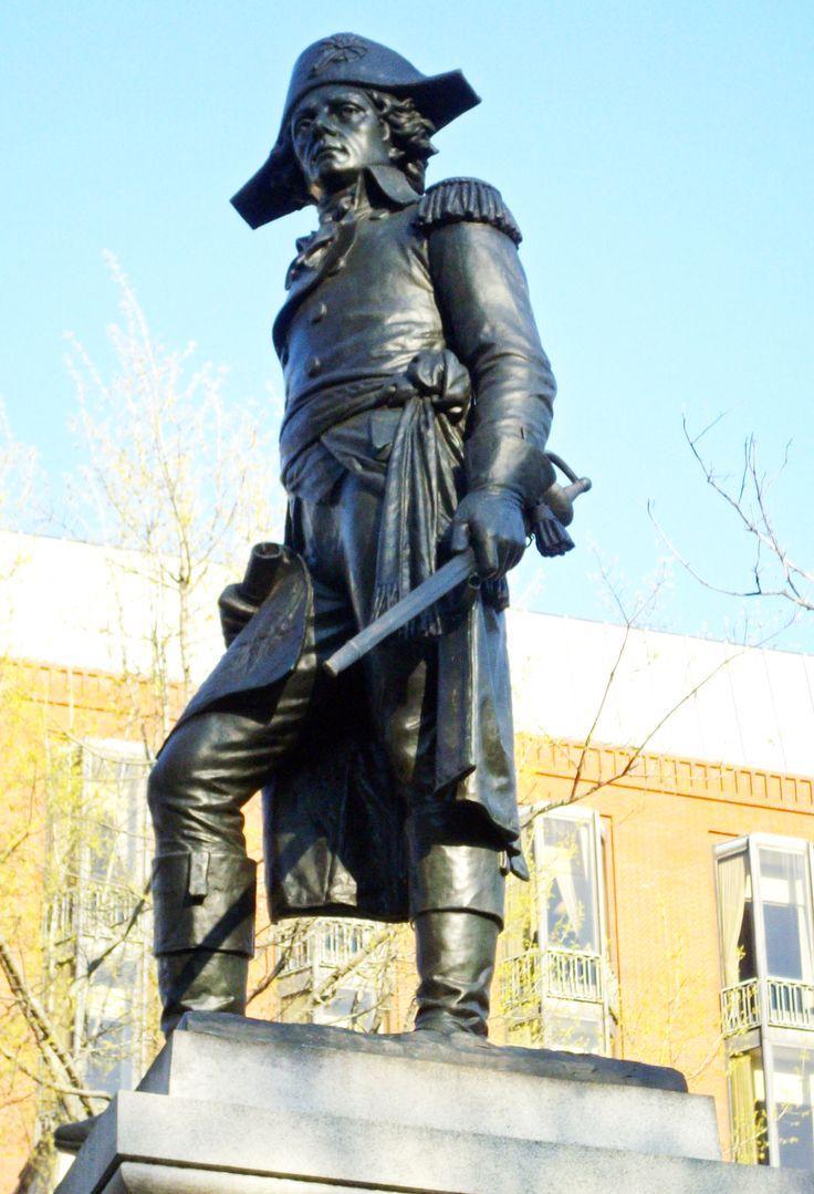 General Thaddeus Kosciuszko in Lafayette Square - Rick Snider