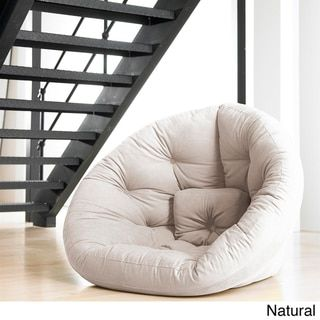 Fresh Futon 'Nest' Convertible Futon Chair/ Bed - Free Shipping Today - Overstock.com - 15438437 - Mobile