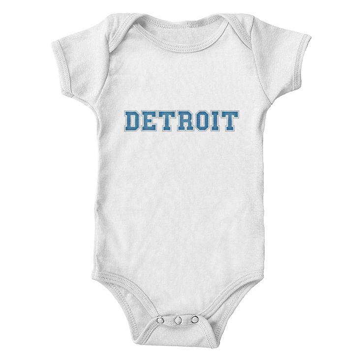Detroit Football Club Infant & Toddler 100% Cotton One-Piece Bodysuit