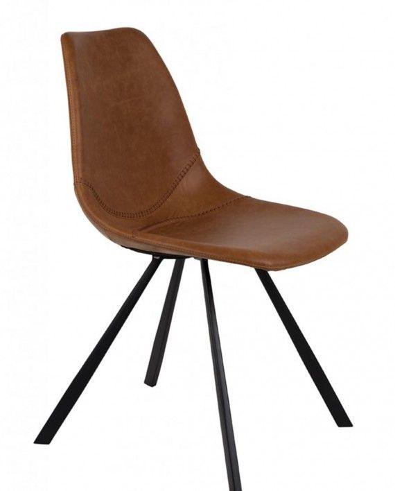 Dutchbone-stoel-leer_Franky-brown-interieur-meubels