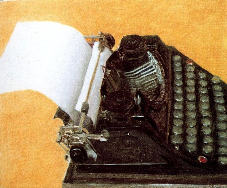 AVIGDOR ARIKHA The Old Typewriter (1999)