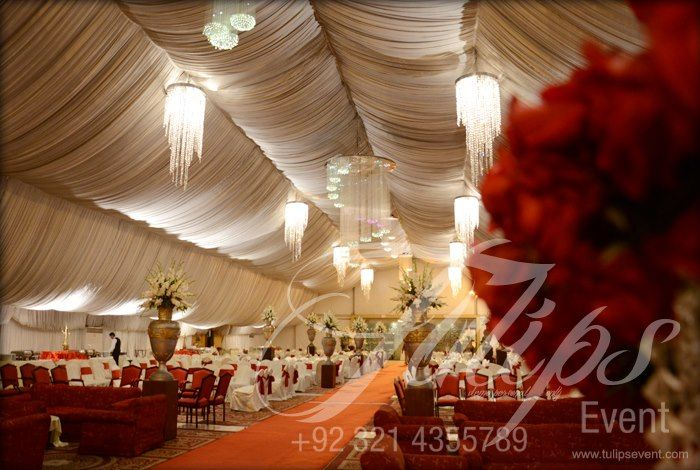 Thematic walima grand 5 stage decoration indoor wedding for Indoor stage decoration