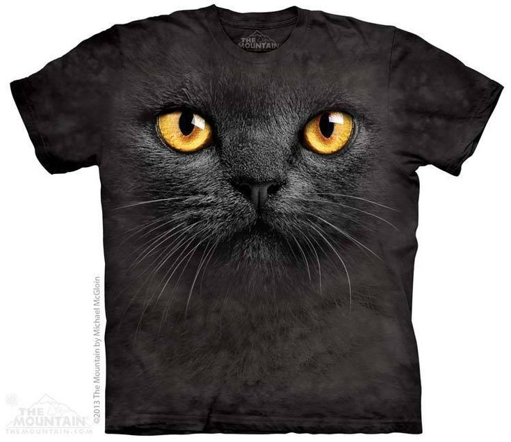 PRIKID - Big Face Black Cat T-Shirt, $37.00 (http://prikid.eu/big-face-black-cat-t-shirt/)