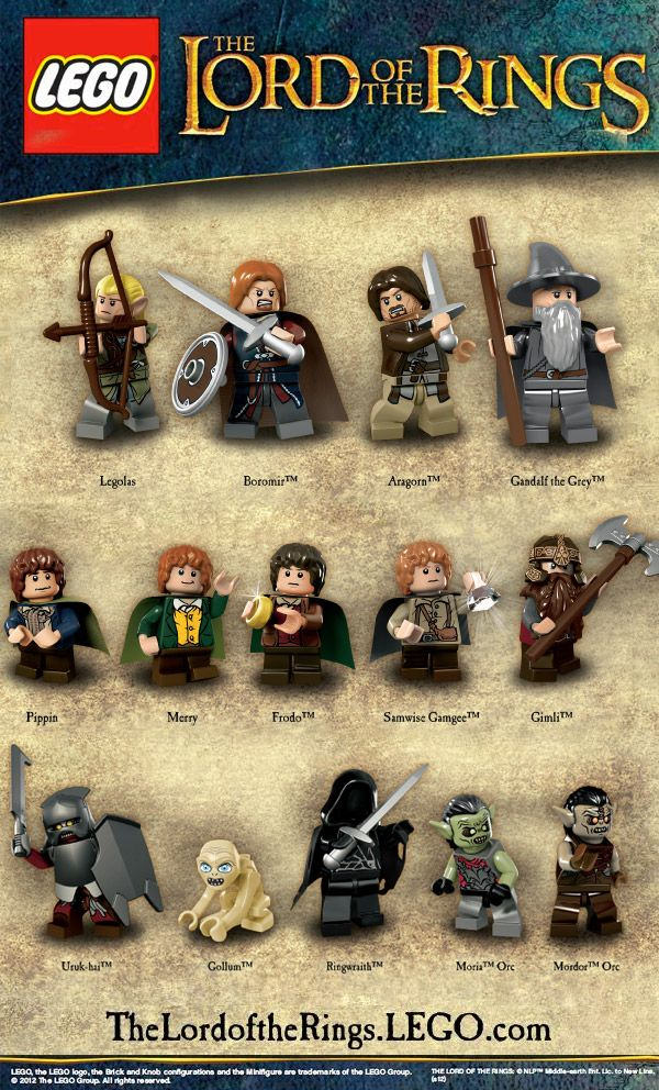 I will need the Samwise Gamgee Lego Fig. Thanx - HL