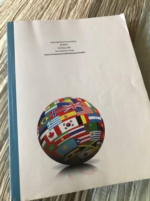 International Accounting Textbook by Ali Reza Jalili New England College #Textbook