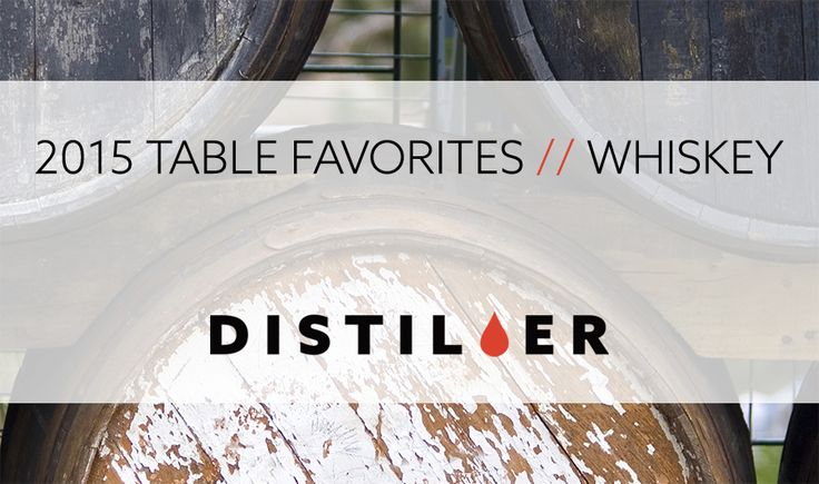 2015 TABLE FAVORITES // WHISKEY As we bring 2015 to a close here at Distiller weve got just one more thing for you! We brought together as many of the members of the Tasting Table (for whom we are incredibly grateful) as we could to bring you their personal favorites of the year in a handy bite-sized format. Here are the Distiller Tasting Tables favorites in whiskey from 2015!  Jake Emen: // Glenmorangie 1970s Collection 77 - This ultra-premium release of five rare Glenmorangie expressions…