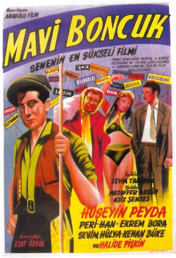 MAVİ BONCUK (1958) Konu: Anadolu'yu dolaşan bir tiyatro topluluğunun öyküsü