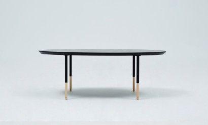 Penguin sofa table-Black