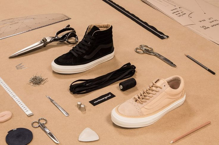 Exclusive First Look At New clothsurgeon x Vans Collaboration