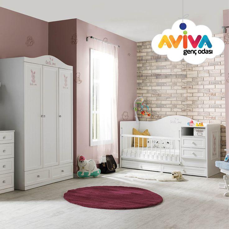 Little One  #avivamobilya #avivagencodasi #bebekodasi #cocukodasi #gencodasi #karyola #yatak #gardrop #beşik #cekmece #calismamasasi #masa #kitaplık #mobilya #furniture #dekorasyon #decoration #bebek #cocuk #genc #youngroom #kidsroom #babyroom #beyazoda #whiteroom #baby #kid #young