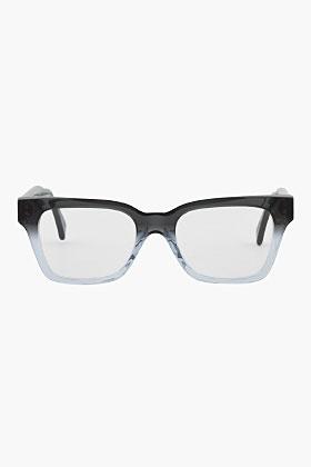 Super Black Gradient America Optical Glasses for men | SSENSE