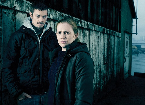 Linden and Holder -- The Killing on AMC