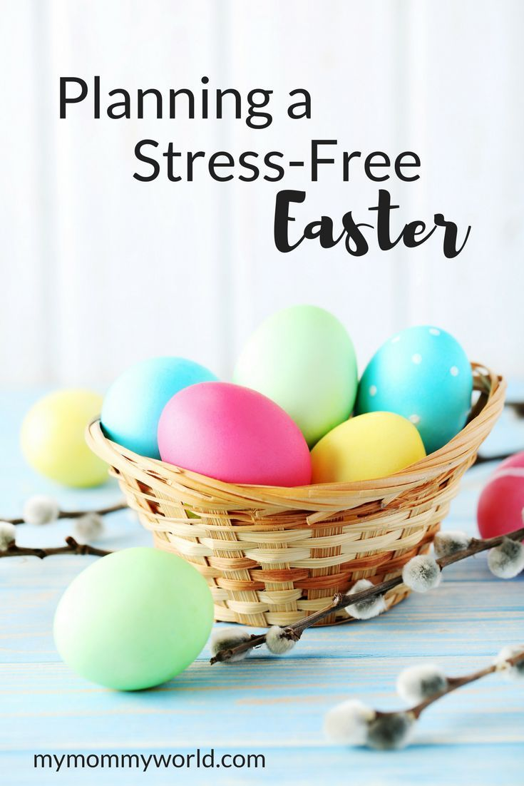Make Easter stress-free this year with these Easter planning ideas. With ideas for easy Easter food, decorations and activities, you can plan an Easter get-together this year that is both fun and low on stress. #easter #planner #holidaytips