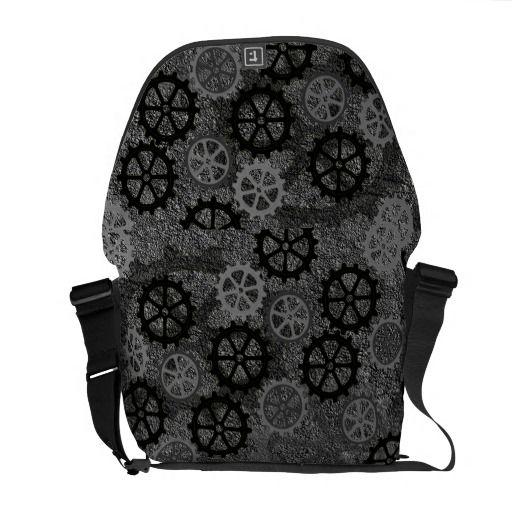 Metal Gears Commuter Bag