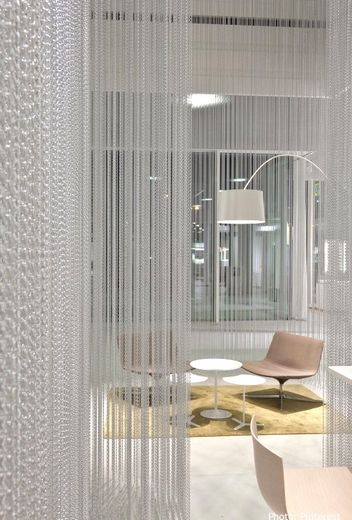 Chain Curtains - Lynx - 5 Colors, Any Size