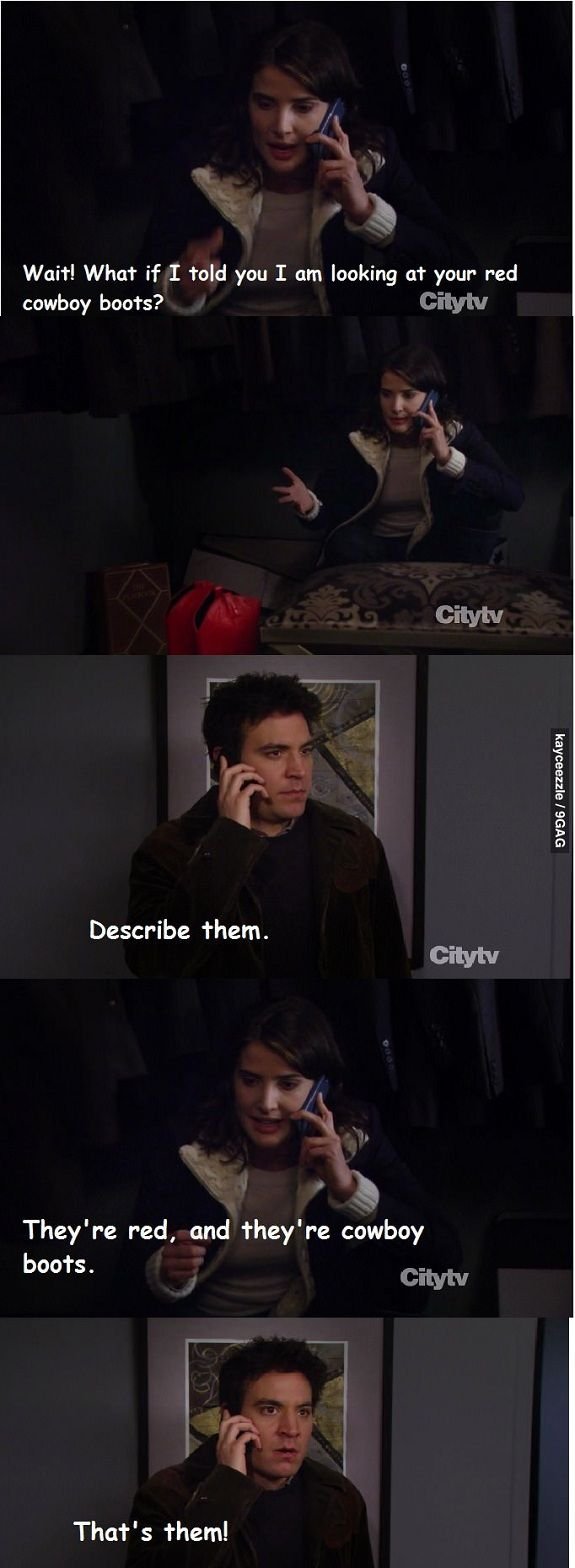 Classic Ted Mosby