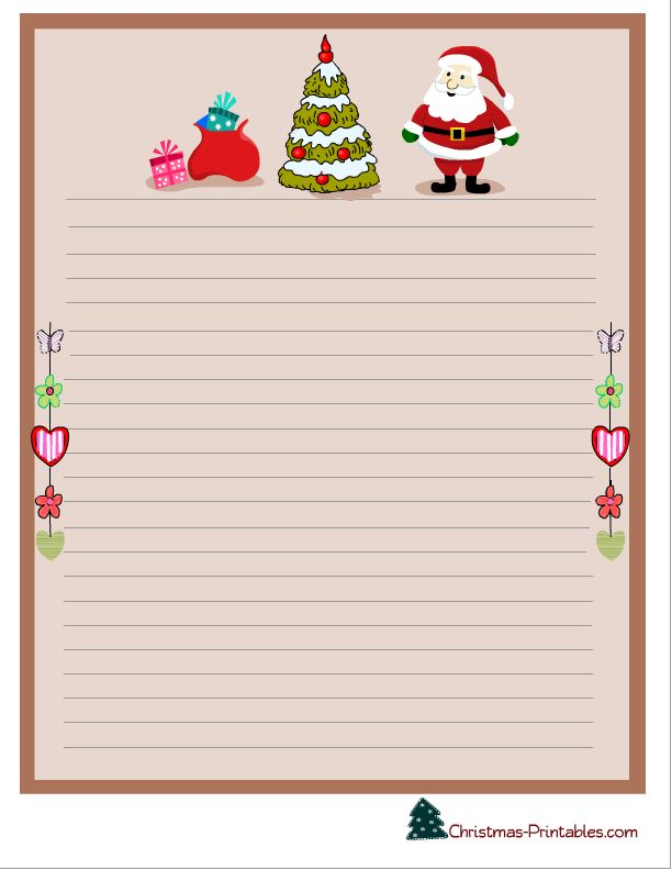 111 best Christmas Stationery images on Pinterest Decorative - christmas letterhead templates word