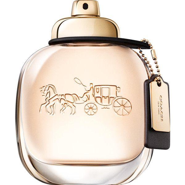 Coach Eau de Parfum Spray ❤ liked on Polyvore featuring beauty products, fragrance, floral fragrances, edp perfume, eau de perfume, mist perfume and fruity perfume