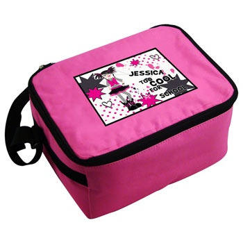 Too Cool Personalised Girls Lunch Bag from Born Gifted