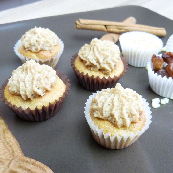 Apfel-Spekulatius-Cupcakes